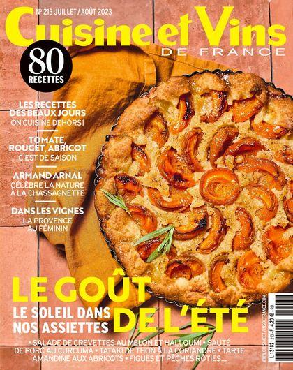 Abonnement magazine Cuisine et Vins de France