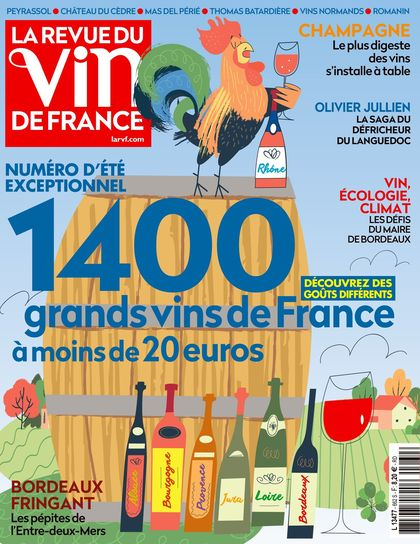 Abonnement La Revue du vin de France (photo)